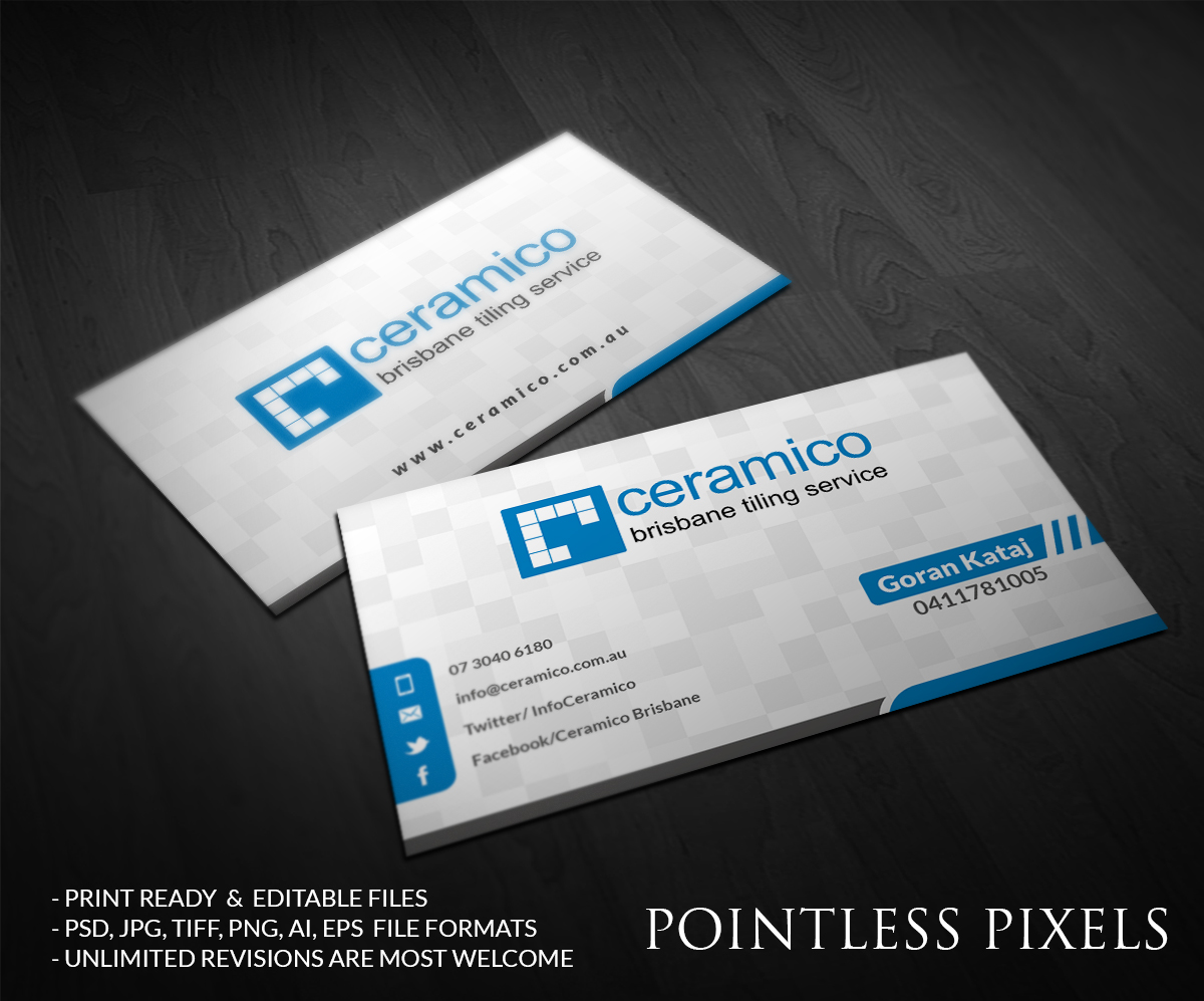 Business card design by pointless pixels india design for Business card pixels