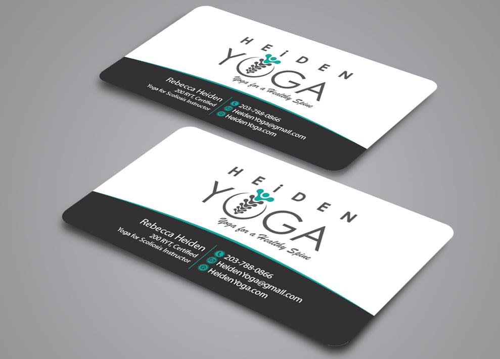 Business Card Design for Heiden Rebecca by RS designs | Design ...