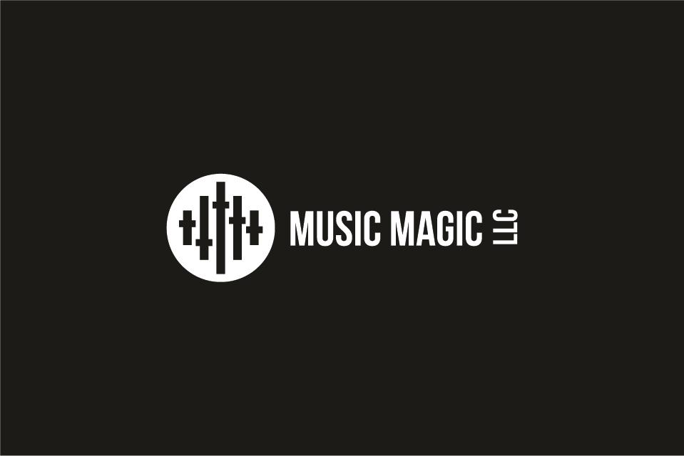 Wedding Logo Design for MUSIC MAGIC LLC by creativevis