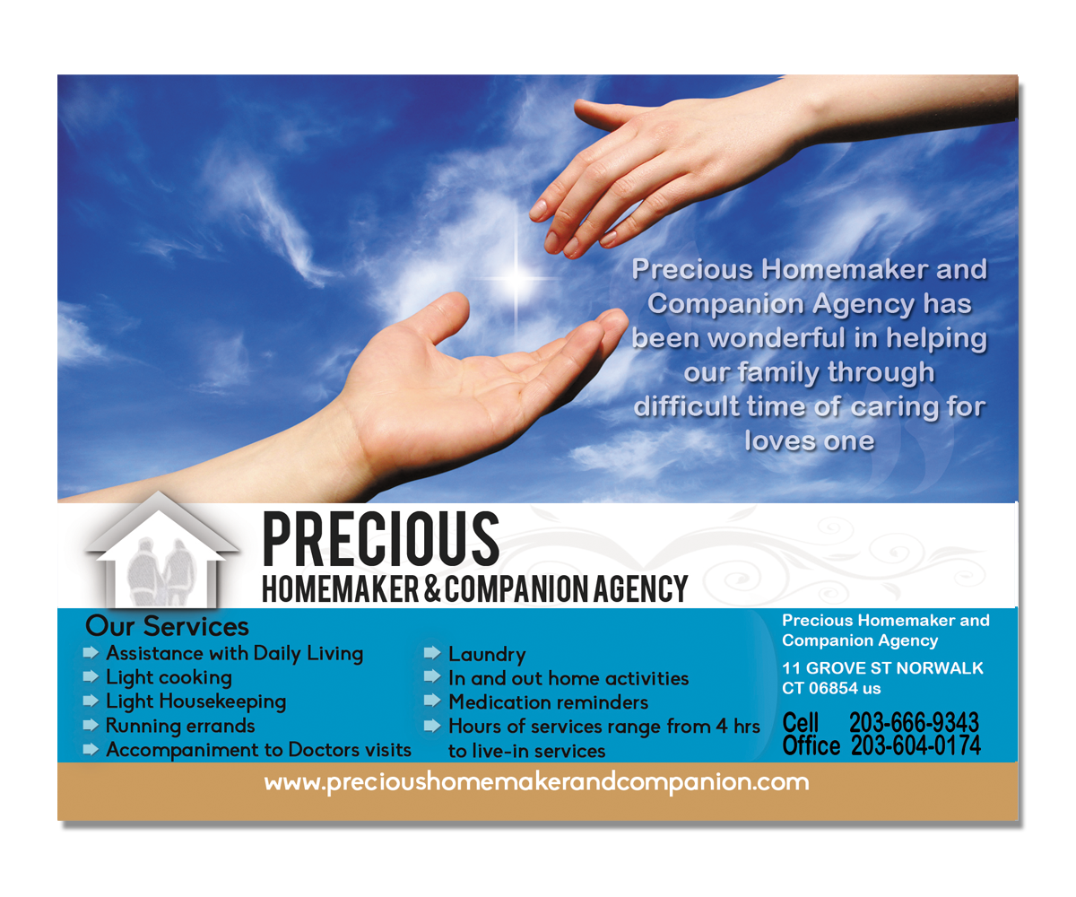 professional elegant postcard design for precious