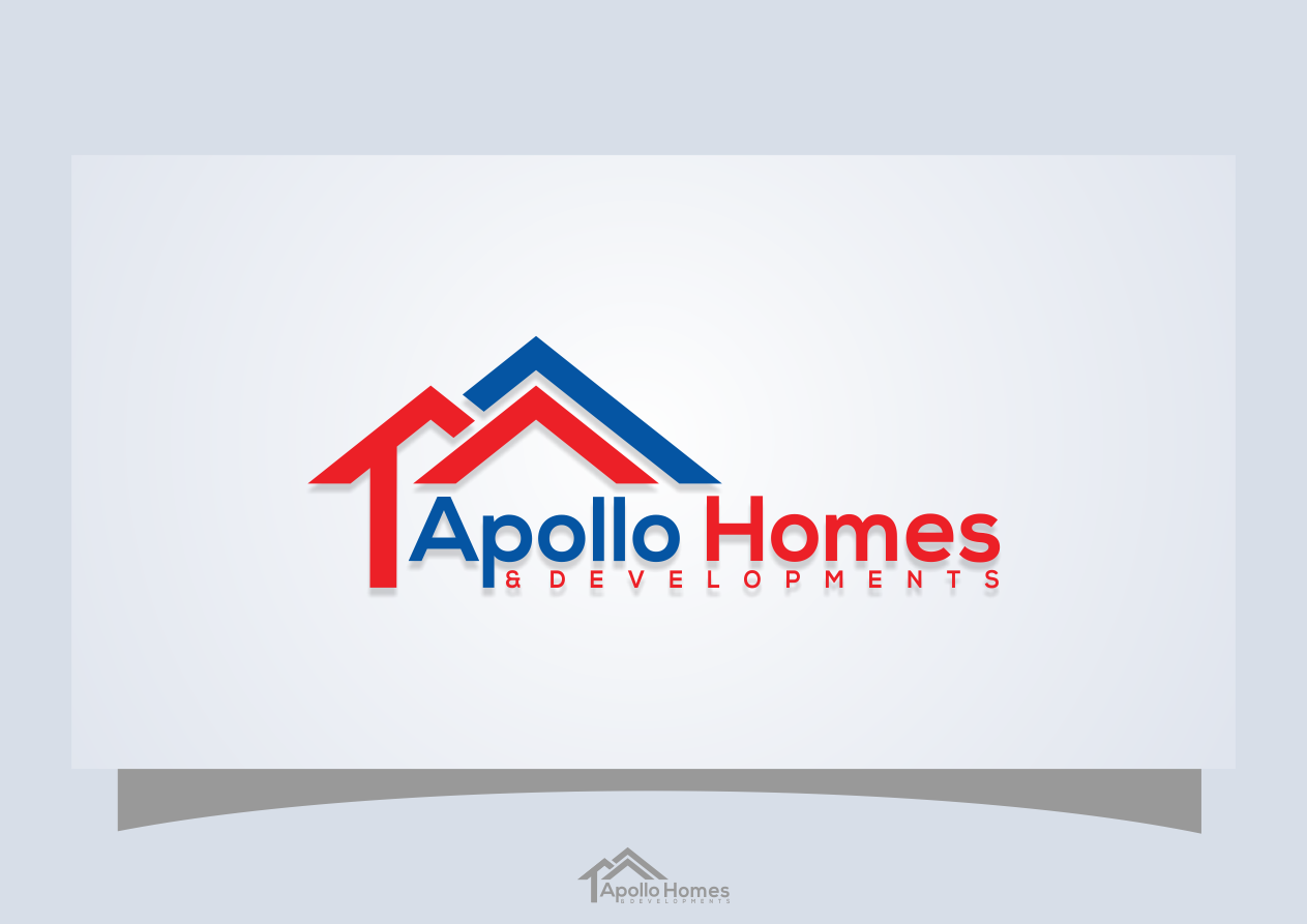 Logo Design For Apollo Homes And Developments By Khoirul Huda
