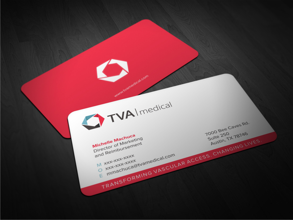 Professional, Upmarket, Medical Business Card Design for a Company ...