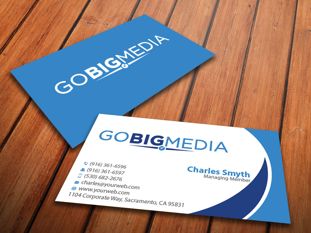 Political business card design for a company by mediaproductionart business card design by mediaproductionart for this project design 5432002 colourmoves