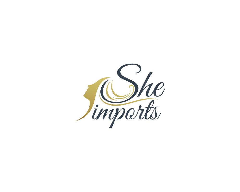 professional feminine logo design for sundara hair