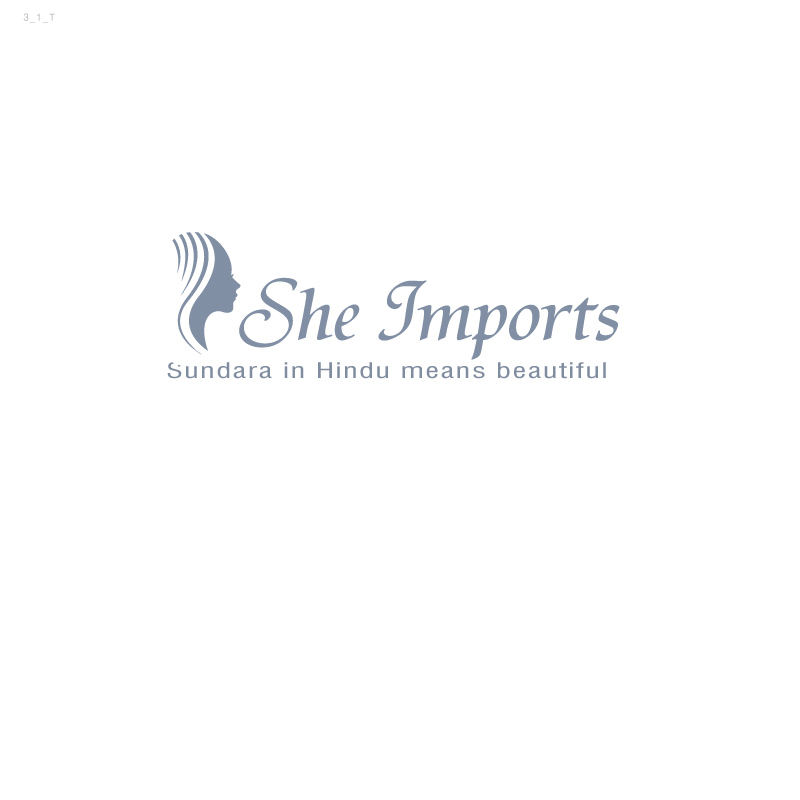 Professional Feminine Investment Logo Design For She Imports By