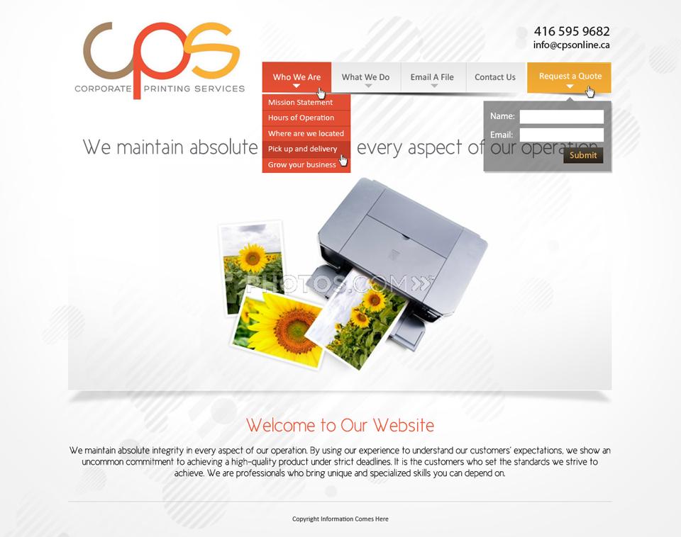 web design by latest design ideas for modern and clean web re design project - Web Design Project Ideas