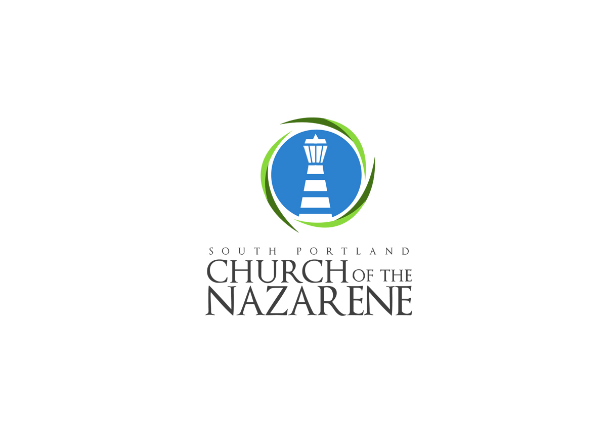 modern bold school logo design for south portland church of the