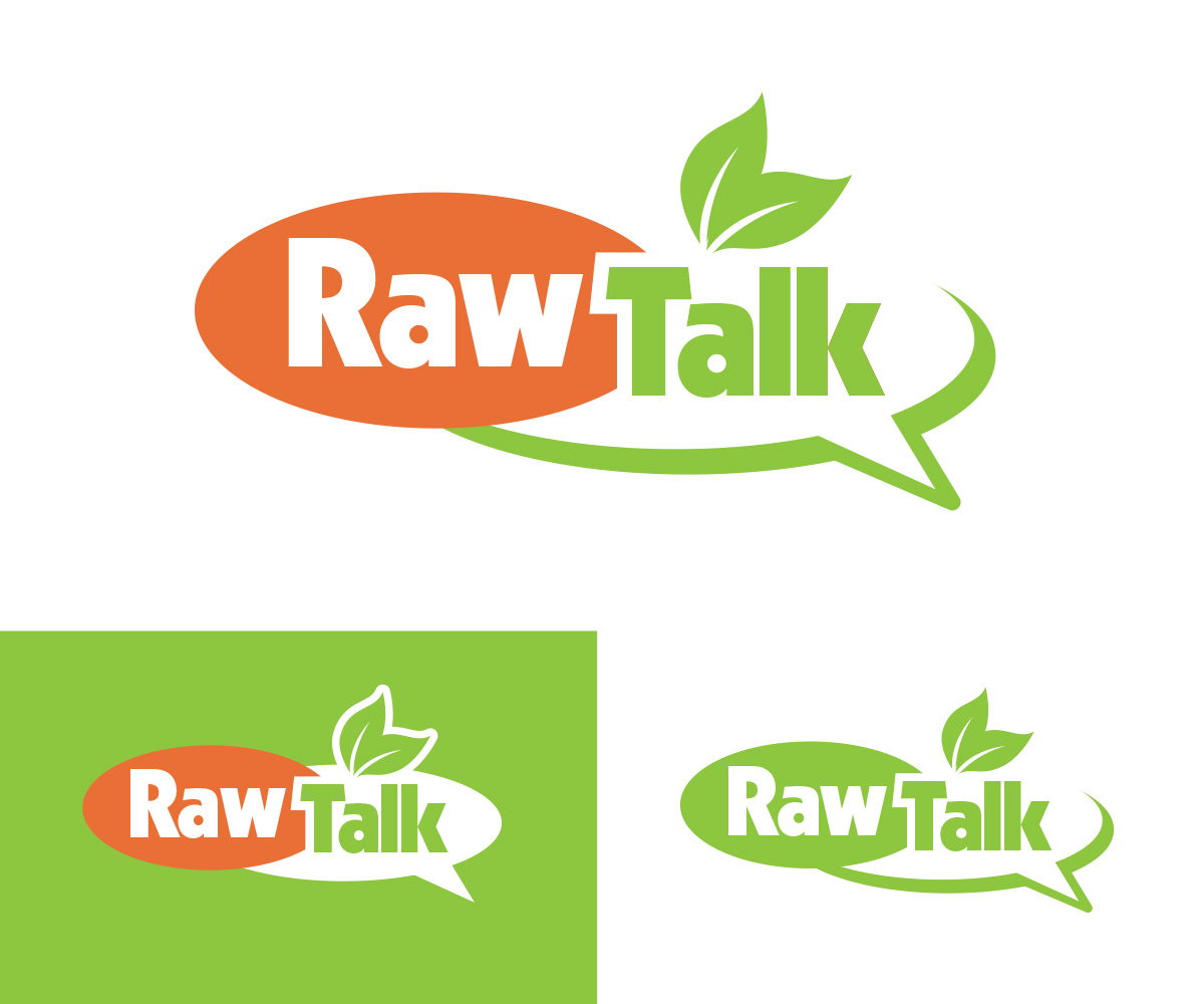 Raw Talk TV Show logo by Kreative123