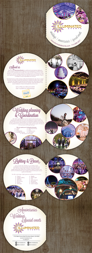 Brochure Design by ceramicristi - Wedding Company needs Brochure Design