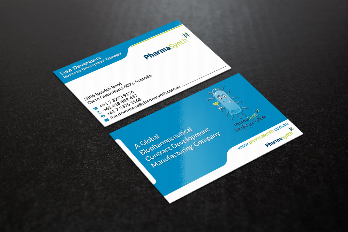 Elegant, Professional, Pharmaceutical Business Card Design for a ...