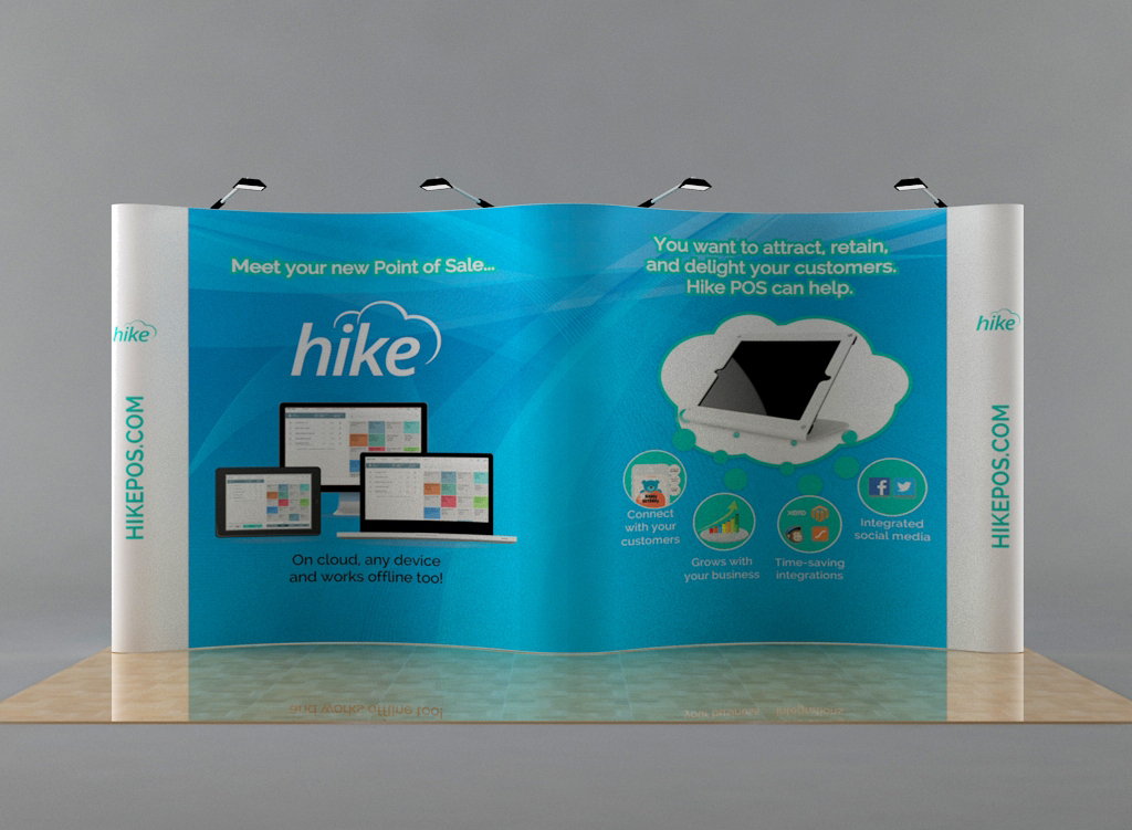 Trade Show Booth Graphic Design : Modern upmarket graphic design trade show booth design for km web