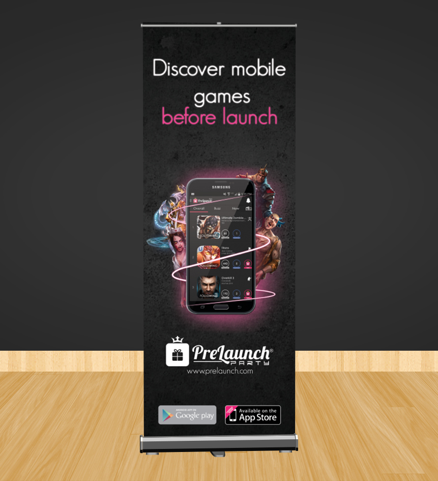 Poster design app - Advertisement Design By Manke Creative For Mobile Game Pre Registration App Needs Banner Poster