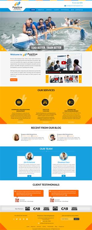 Web Design by Smart - Innovative Webpage for leadership development a ...