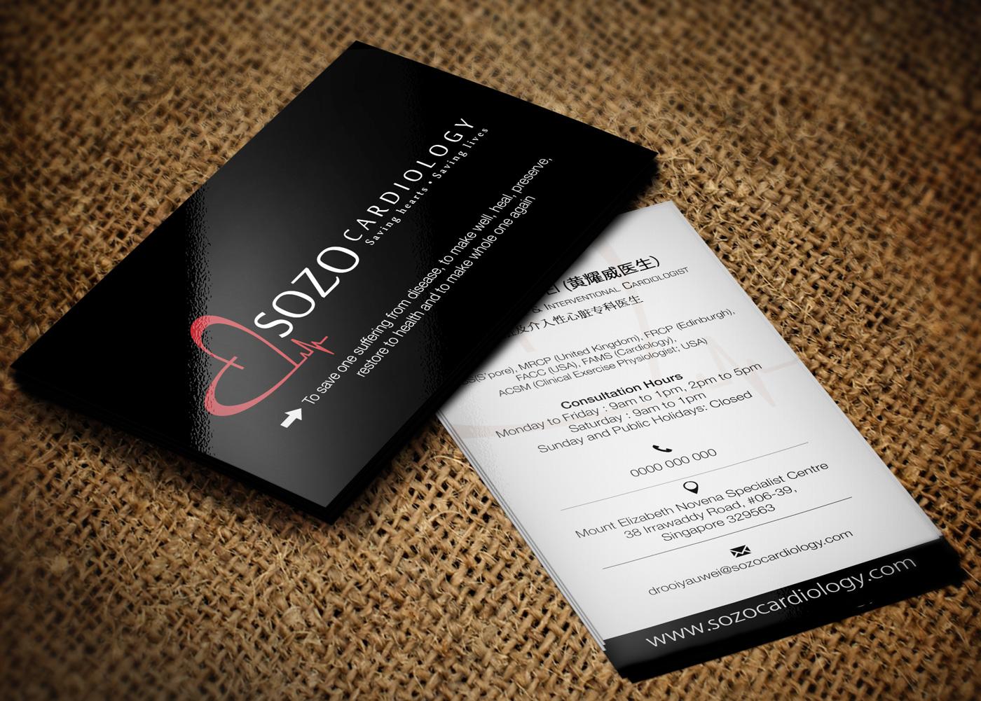 modern masculine business card design for yau ooi by lanka ama