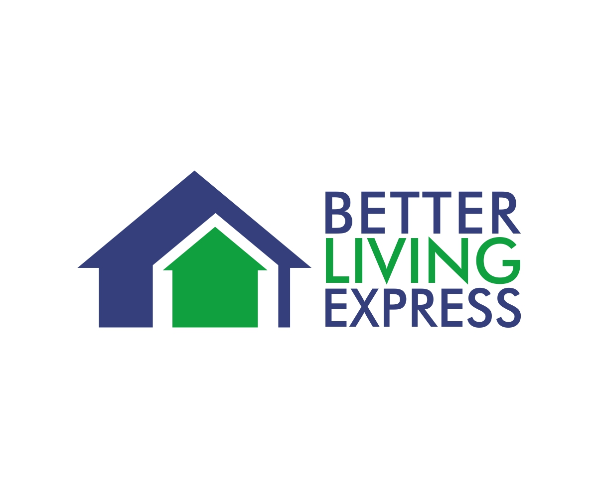 Bold professional construction logo design for better for Better living designs