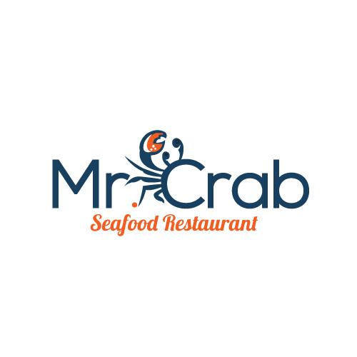 123 playful elegant seafood restaurant logo designs for mr crab seafood restaurant a seafood. Black Bedroom Furniture Sets. Home Design Ideas