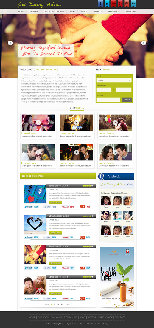 dating by design blog Check out this blog design | design: #5518748, designer: mukarram, tags: dating.