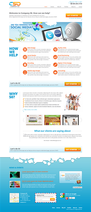 Small Business Web Page Design 1512826