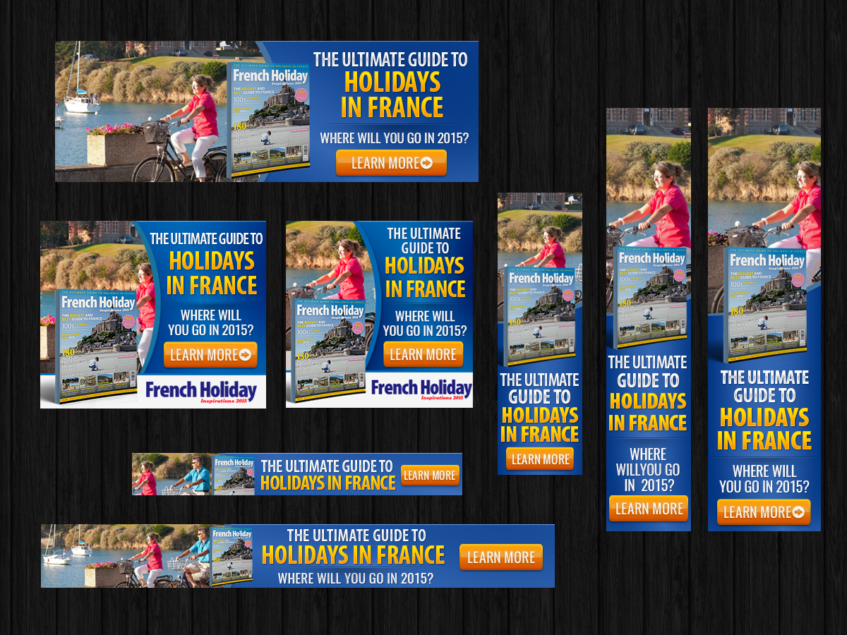 Design for banner ads - Banner Ad Design By Laurra For Buttons Banners Mpus French Holidays Inspiration