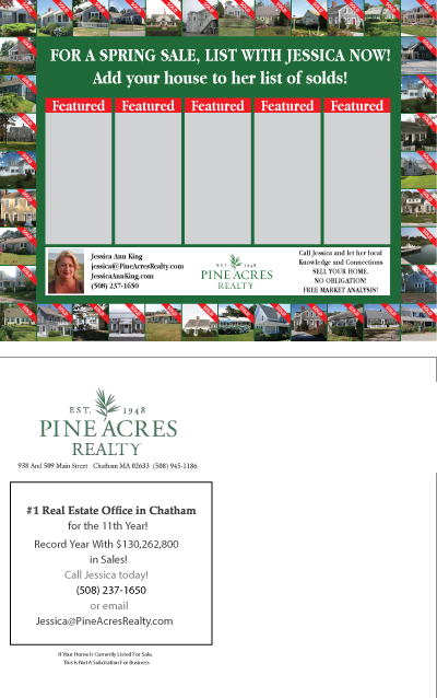 Real Estate Postcard Design for a Company by TedAtkinson