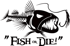 Illustration Design by Eddiey - Fish or Die -