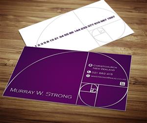 Award winning business card design crowdsourced card for Award winning business card designs