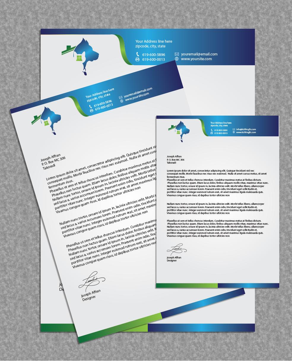Feminine, Upmarket, Business Letterhead Design For A