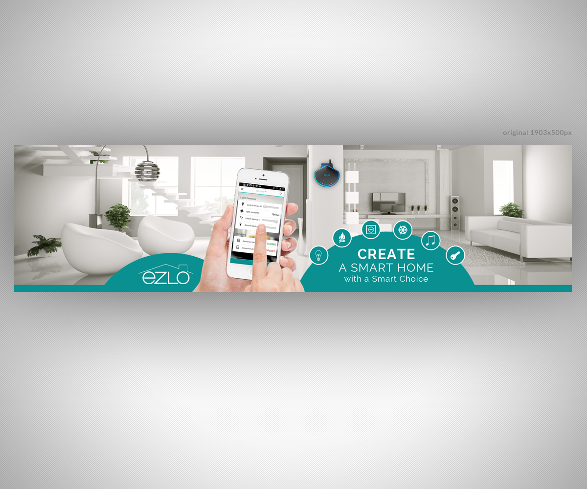 Personable, Modern, Entertainment Banner Ad Design for eZLO Inc. by ...