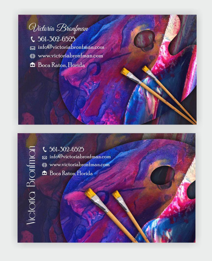 Elegant, Playful Business Card Design for Victoria Bronfman by ...