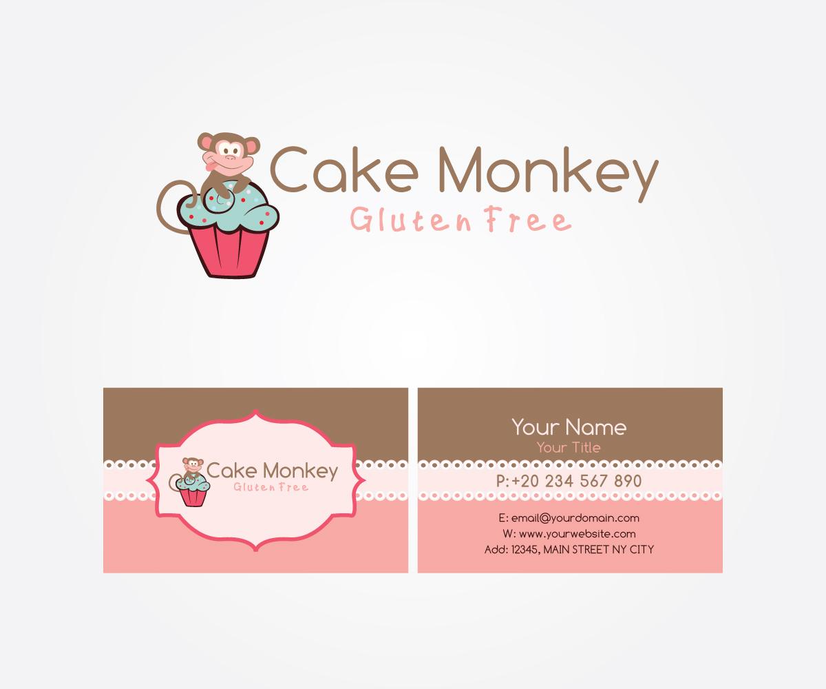 Design De Logo Chef Pour Cake Monkey As The Business Name And
