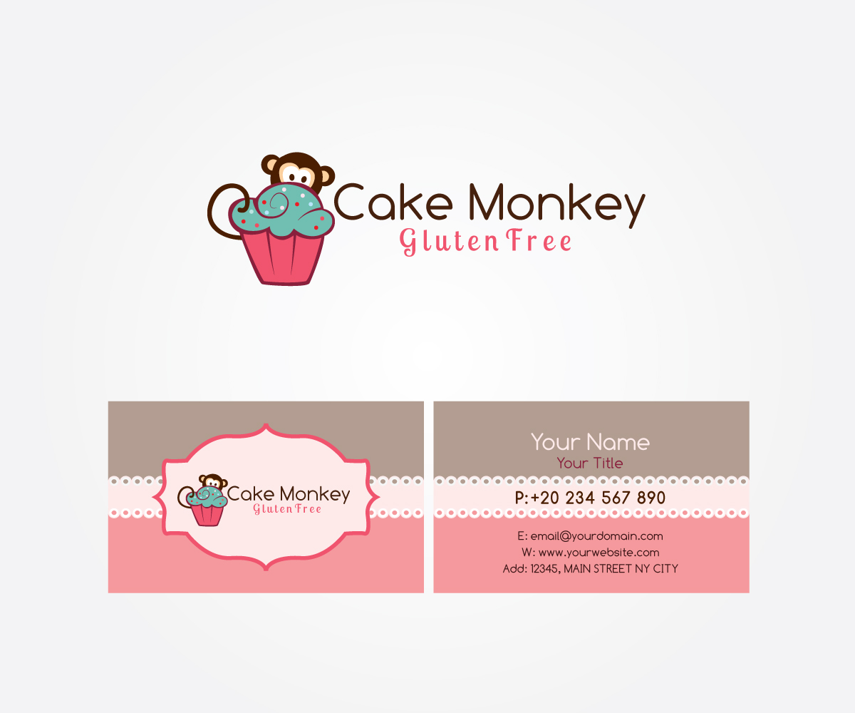 Chef Logo Design For Quot Cake Monkey Quot As The Business Name
