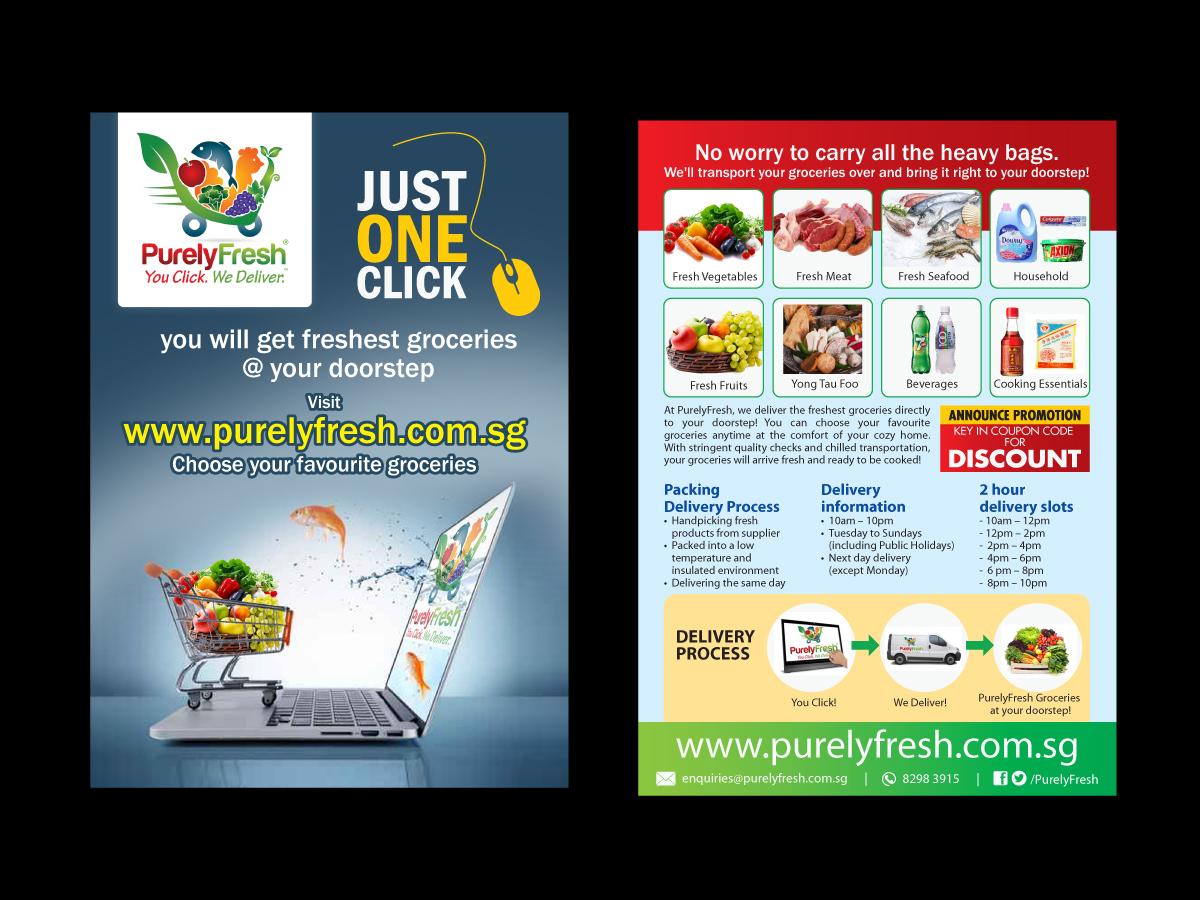 design a brochure online