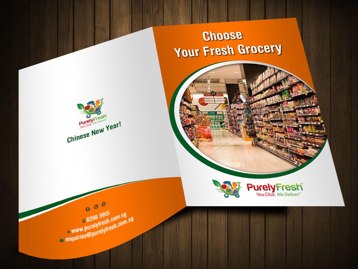 33 Elegant Playful Online Shopping Brochure Designs for a Online ...