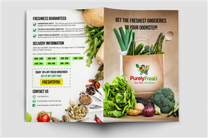 Brochure Design by Katya - Online Grocery Shopping Business Needs a Brochure
