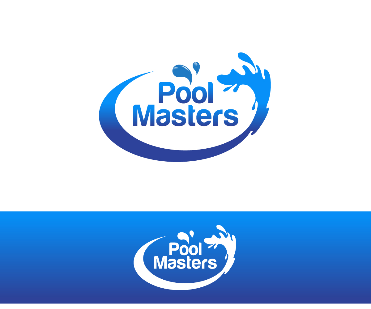 16 professional store logo designs for pool masters a for Pool design logo