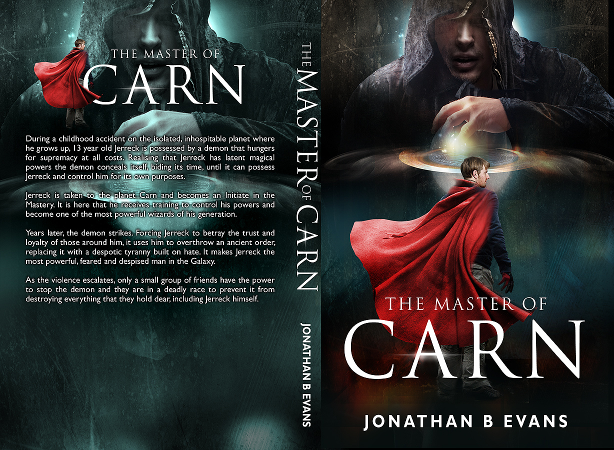 Fantasy Book Cover Design Tips ~ Serious bold training book cover design for a company by