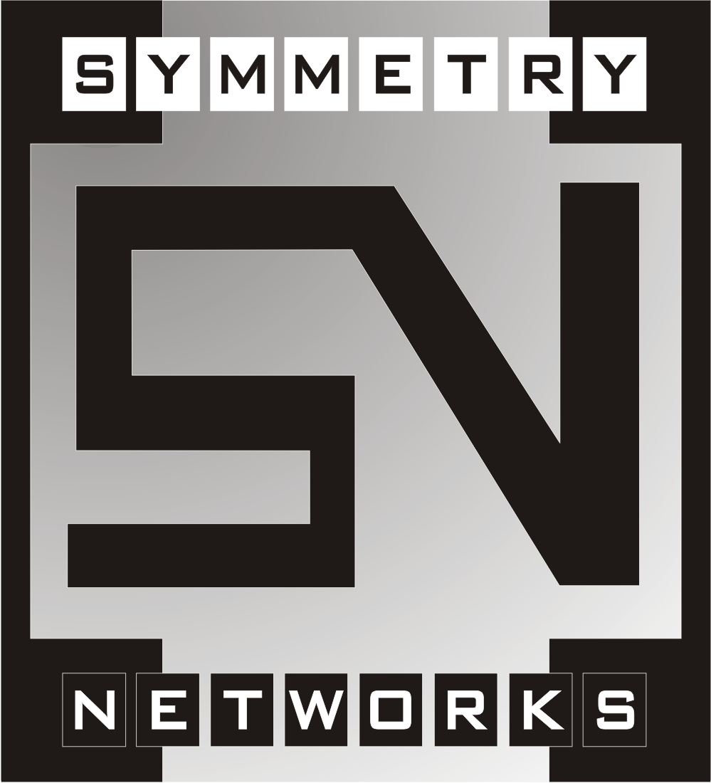 Traditional, Serious, Internet Logo Design for Symmetry Networks by ...