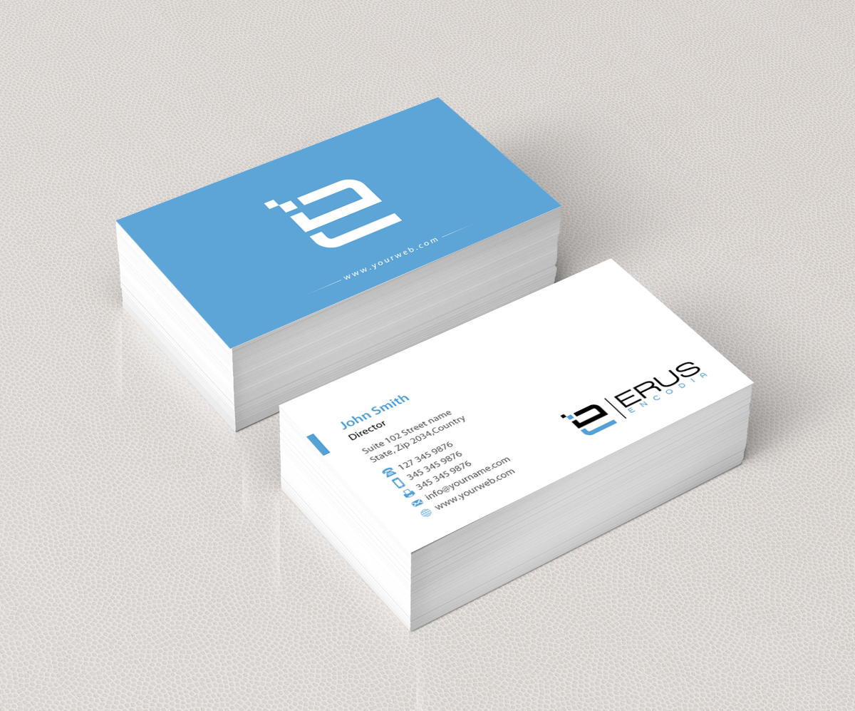 Modern, Professional, Architecture Business Card Design for Erus ...