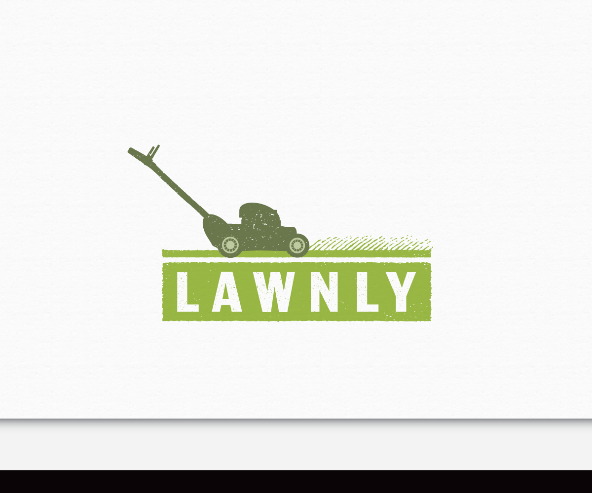lawn care logo design galleries for inspiration feminine modern lawn care logo design by adsonix