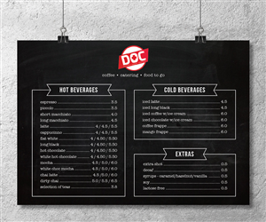 menu design custom menu design service