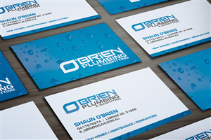 Business Card Design 1561502 Submitted To Plumbers Buisness Closed