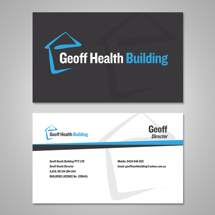 Bold, Serious, Business Business Card Design for a Company by ...