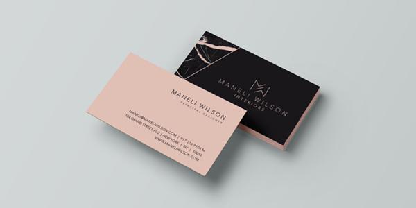 Wonderland freelance graphic designer italy business card design colourmoves