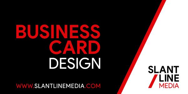 Slant line media freelance logo designer philippines create new business card reheart Choice Image