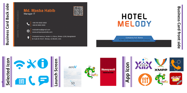 Masba Habib | Freelance Business Card Designer & Name Card Designer