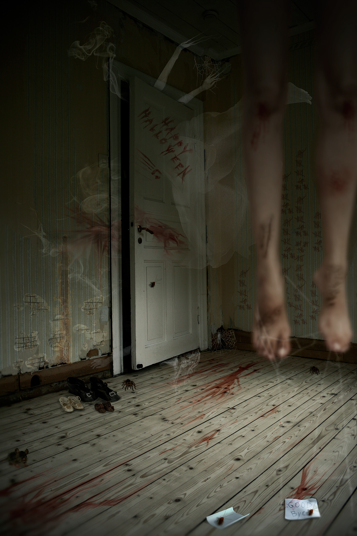 Photoshop submission for 39 haunted houses 2 39 contest for Haunted room ideas