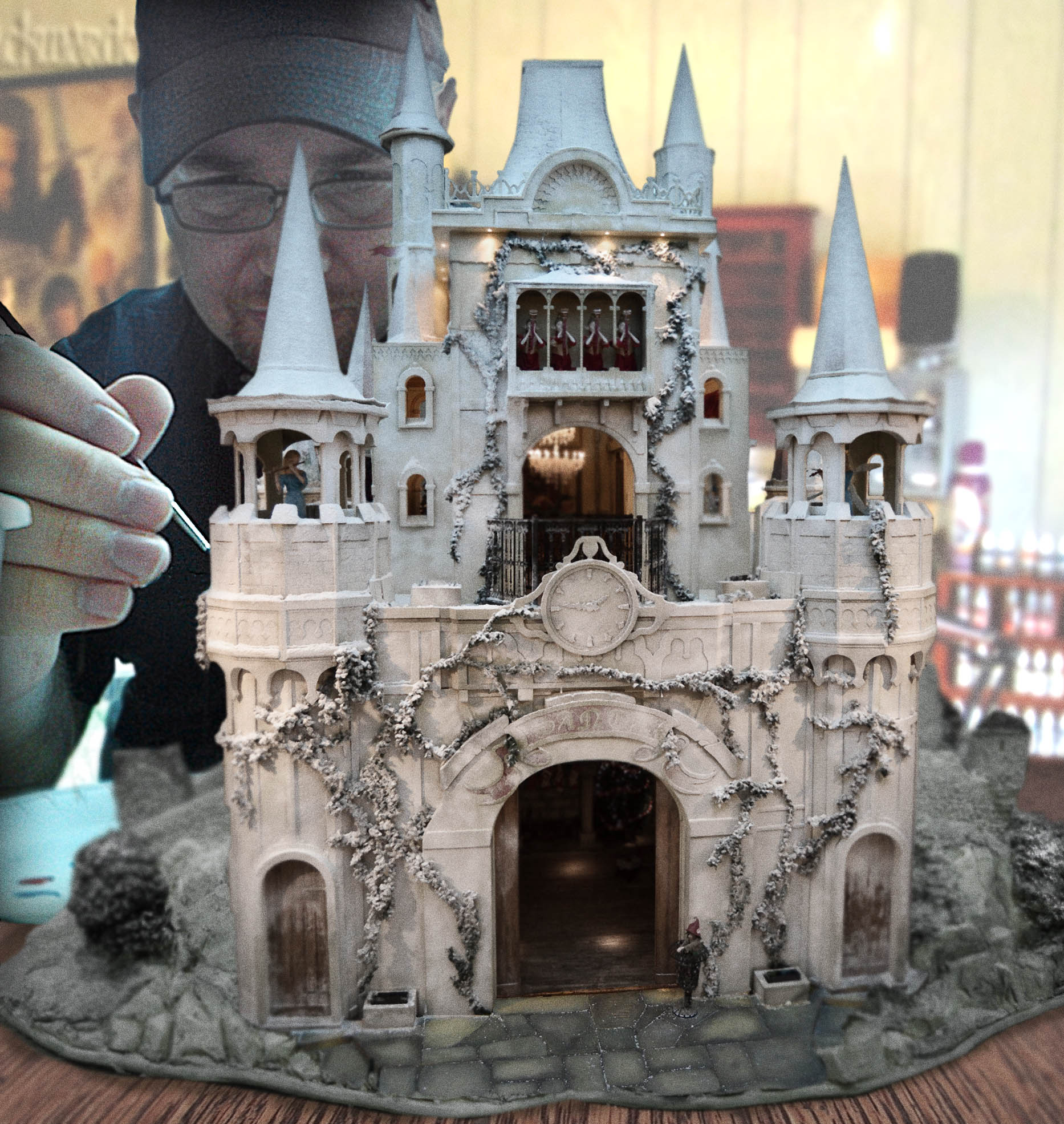exceptional castle design #3: Photoshop Design by mhull for Winter Castle - Design #8836518
