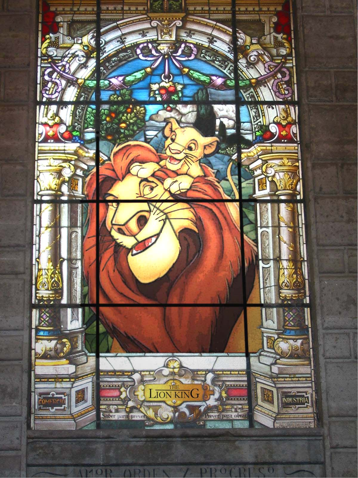 Photoshop Submission For Stained Glass Contest Design 9091214