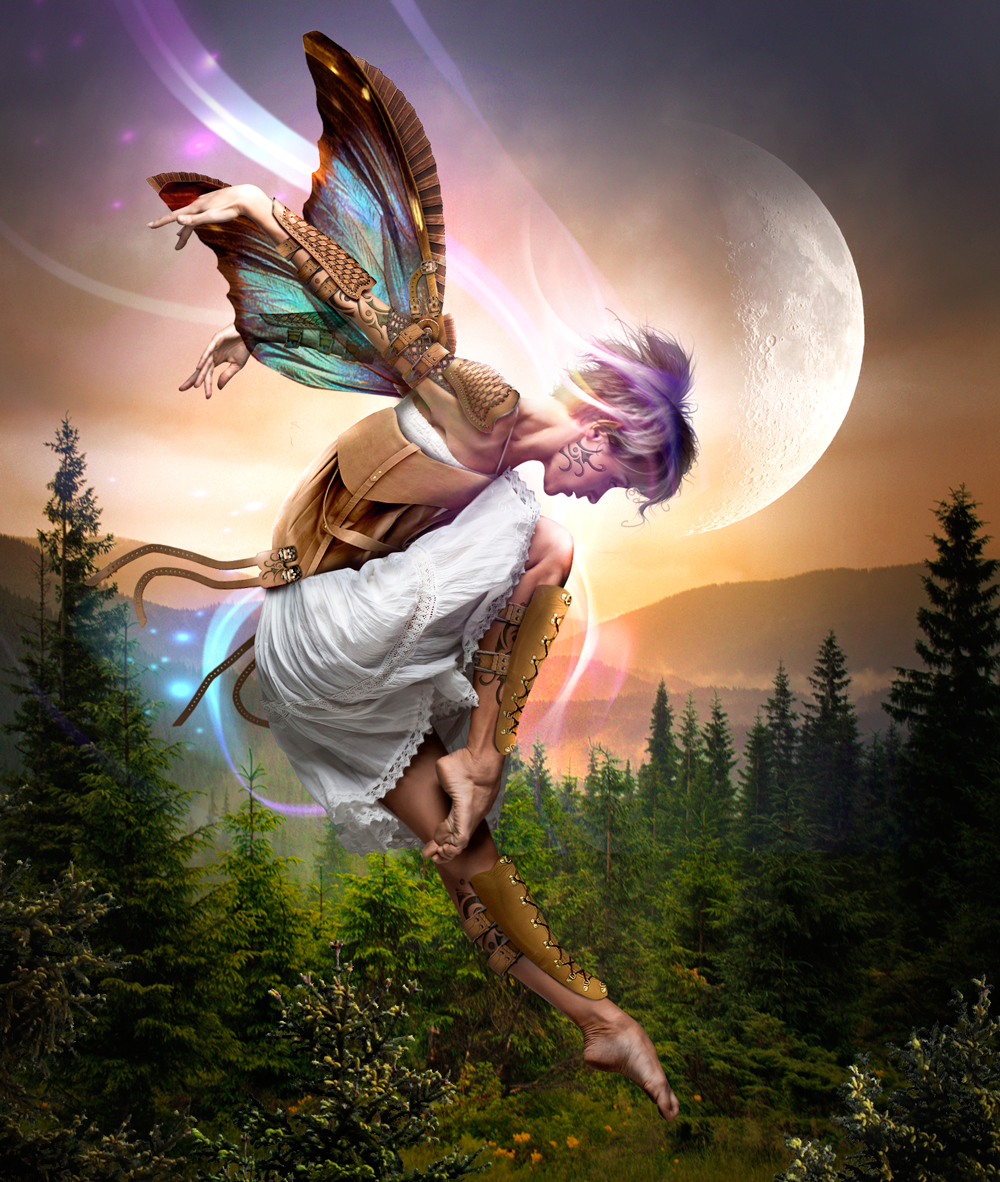Photoshop Submission for 'Faeries 6' Contest | Design #8807261