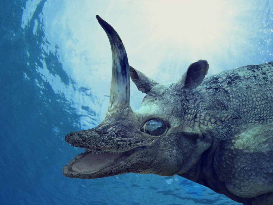 how to create a sea monster in photoshop